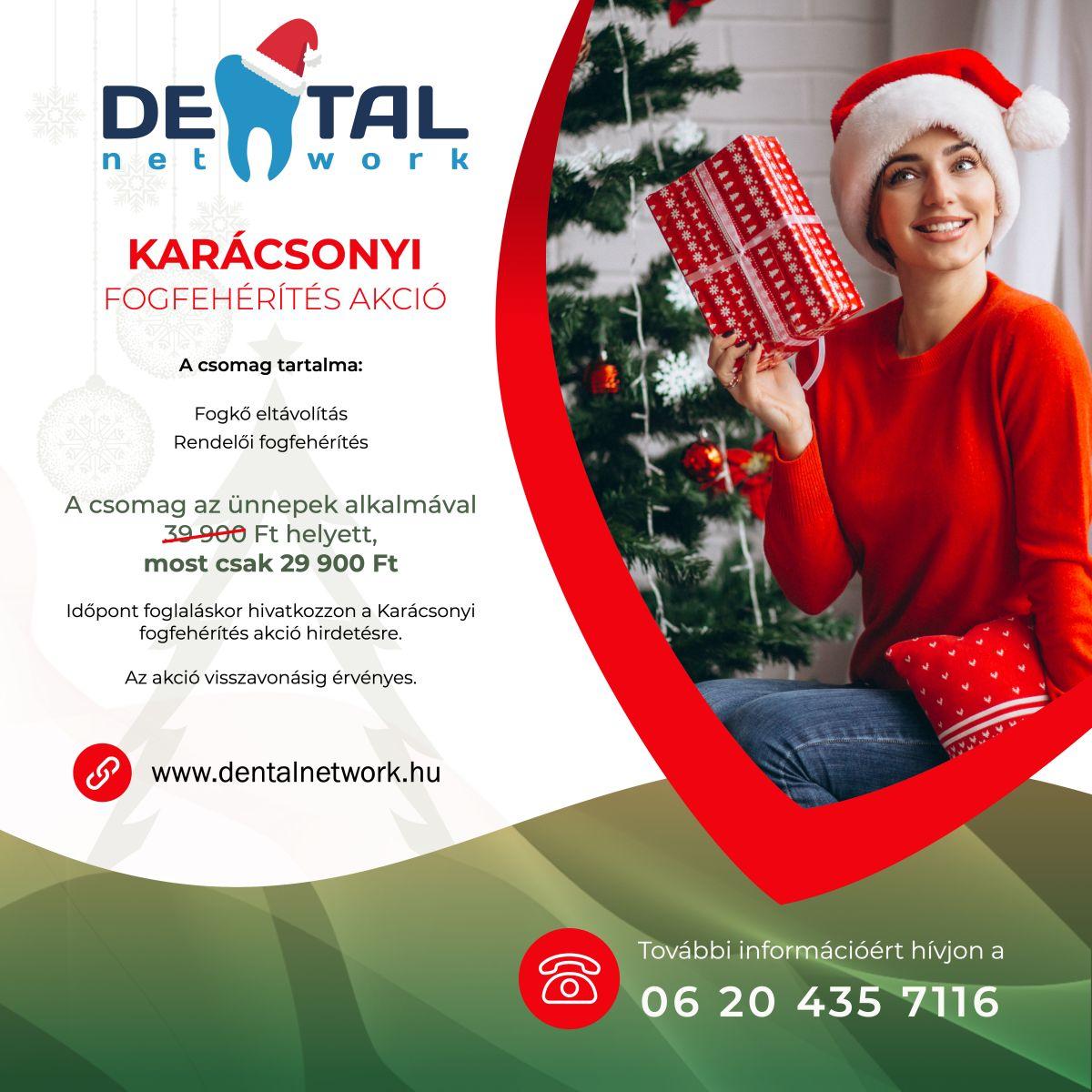 Jókai Dental Fogászat - Karácsonyi akció - Fogfehérítés