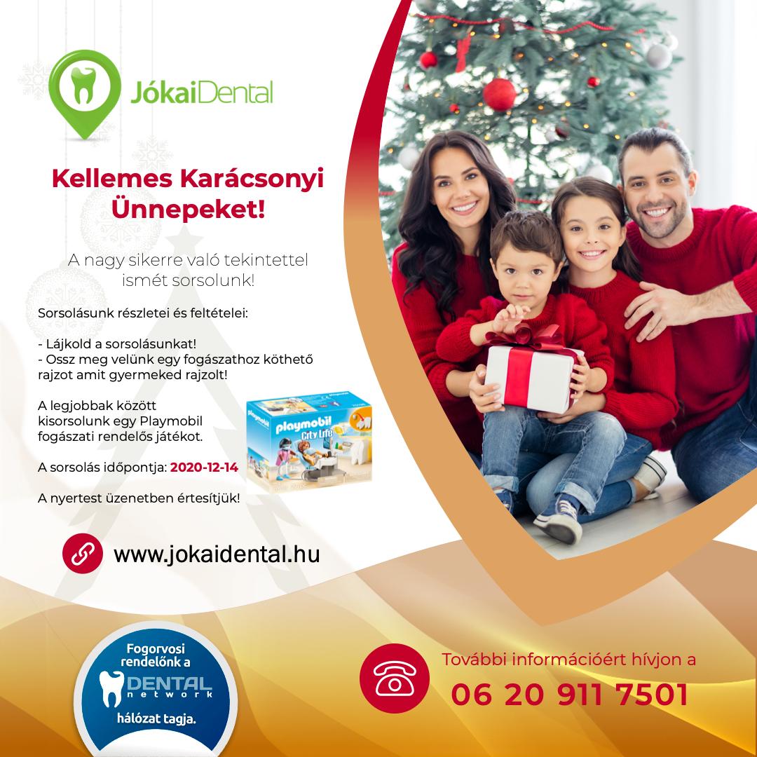 Jókai Dental Karácsonyi nyereményjáték