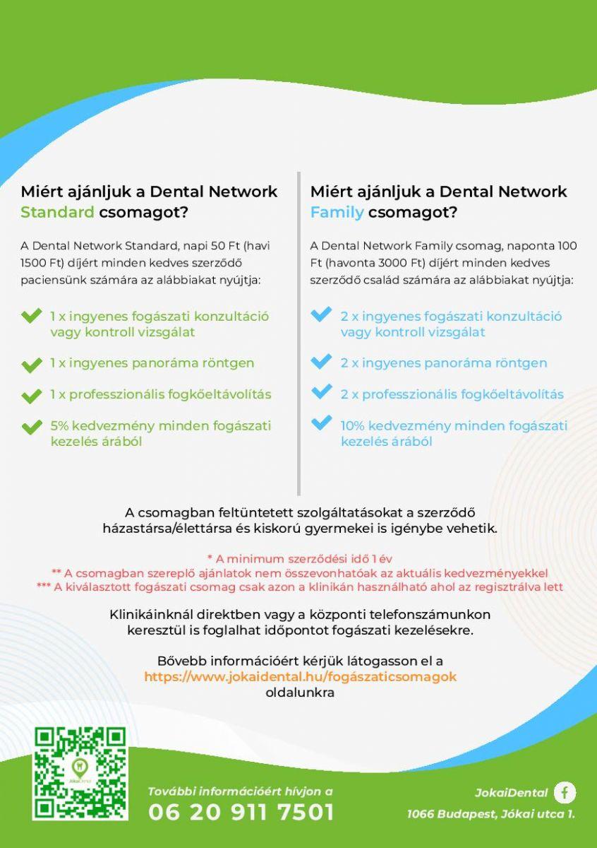 Jókai Dental Fogászat Budapest - Fogászati csomagok