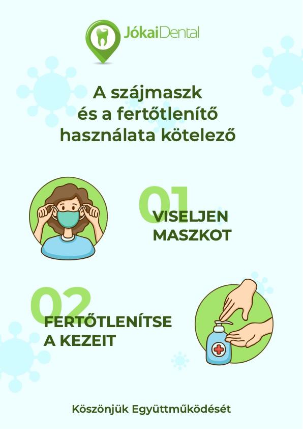 Jókai Dental Fogászati Rendelő - Koronavírus