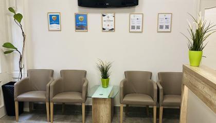 Jókai Dental Fogászat, Fogorvosi rendelő recepciója